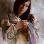 _Strength and Grace- Grandmother's Quilt _ Oil 28x18_