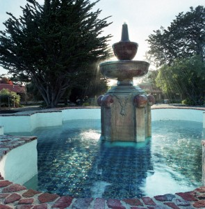 Douglas_Barret_Mission_Carmel_Fountain