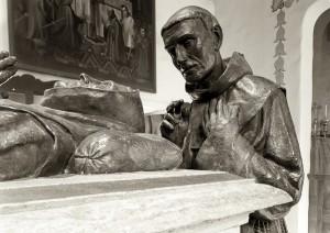 Huber_Craig Alan_Mission San Carlos Borromeo del Rio Carmelo_Father Crespi and the Serra Cenotaph