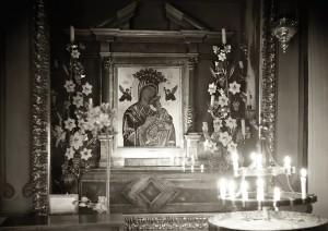 Huber_Craig Alan_Mission San Carlos Borromeo del Rio Carmelo_Madonna and Christ Child